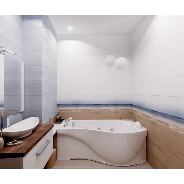 Акриловая ванна Triton Мишель (левая) 170x96